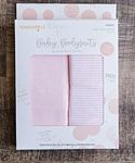Baby Bodysuits Blushing Peach 6-9 mo