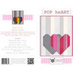 KFQP120 POP Heart Quilt Pattern KTX