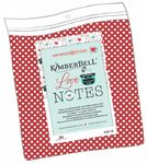 Love Notes Mystery Quilt Backing Kit