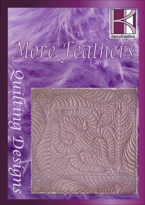 More Feathers Embroidery CD