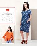 Gelato Blouse and Dress Sewing Pattern
