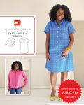 Camp Shirt and Dress Pattern