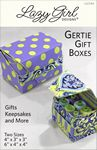 Gertie Gift Boxes - Lazy Girl Designs - LGD144