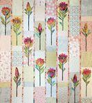Protea Quilt Pattern By Laura Heine of Fiberworks