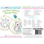 Bunny & Bear Hand Embroidery Pattern