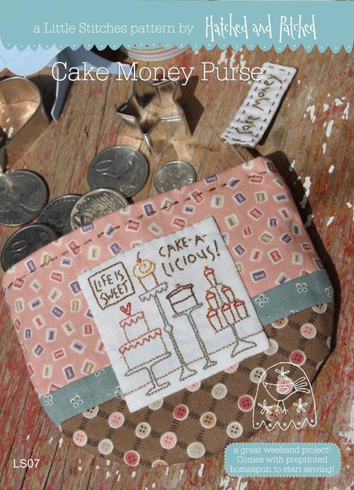 Little Stitches Cake Money Purse