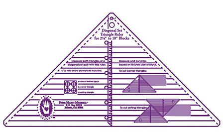 Sm Full Diagonal Set Triangle