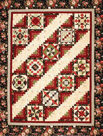 Jamestown Sampler BOM Quilt Pattern