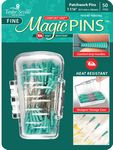 Magic Pins Patchwork Fine .5mm 1 7/16 in, 50 pins