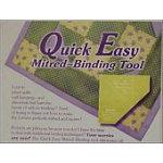 Quick Easy Miter Binding Tool