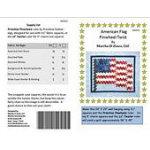 AMERICAN FLAG PINWHEEL TWIST