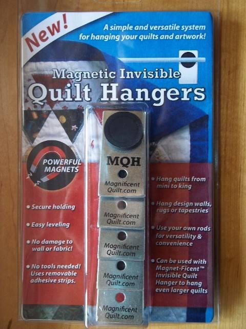 Magnetic Quilt Hanger