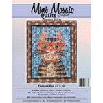 Mini Mosaic Hipster Kitty Pattern