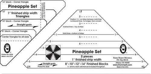 Pineapple Ruler 1 -Marti Michell