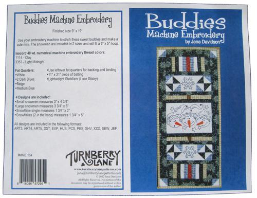 Buddies Machine Embroidery^