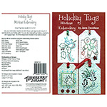 Holiday Tags Machine Embroidery Pattern