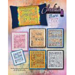 More Pillow Talk Machine Embroidery by Claudia's Creations