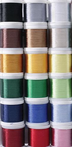 Rayon Embroidery Thread 40wt.