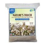 Pellon Nature's Touch 100% Natural Cotton No Scrim 96x108 Queen 96x108, Natural