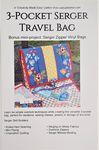 3 Pocket Serger Travel Bag pattern