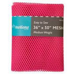 Mesh Fabric Bright Pink  - 36 in x 50 in
