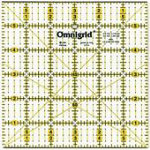 Omnigrid Square Ruler 6 in