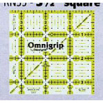 Omnigrip Square Ruler 3.5 in