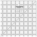 Omnigrip 8-1/2in Square Omnigrid