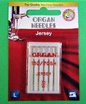 Organ Needle Ball Point/Jersey 70/10 /5 ct