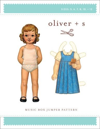 Music Box Jumper 5-12 Oliver + S: Music Box Jumper Pattern (5-12)
