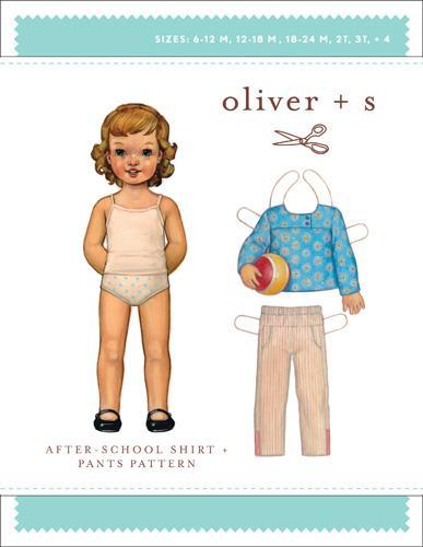 Afterschool Shirt + Pants 6m-4