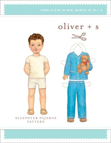 Sleepover PJ's  size 5 - 12  by Oliver + S
