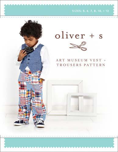 Art Museum Vest pants 512