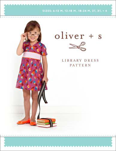 Oliver + S Library Dress sz 6mo-4