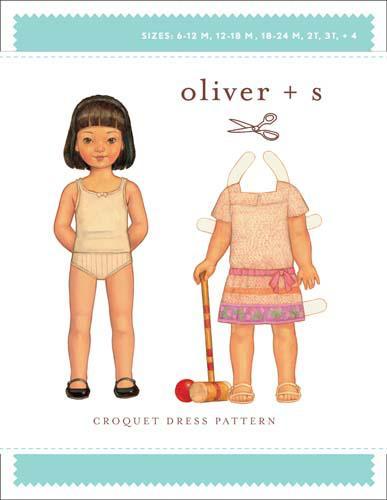 Croquet Dress (6m-4)