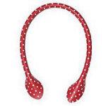 Red 16in Polka Dot Bag Handles!