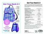 Got Your Back 2.1 Pattern by Annie