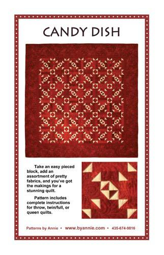 By Annie Candy Dish Quilt Pattern 810233034747