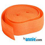 Fold-over Elastic - 7/8in - Pumpkin