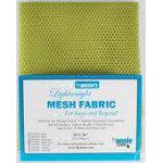 Lightweight Mesh Fabric 18inx54in Apple Green