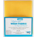 Lightweight Mesh Fabric 18inx54in Dandelion