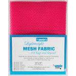 Lightweight Mesh Fabric 18inx54in Lipstick