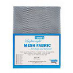 Lightweight Mesh Fabric 18inx54in Pewter