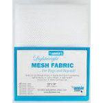 Lightweight Mesh Fabric 18x54 White