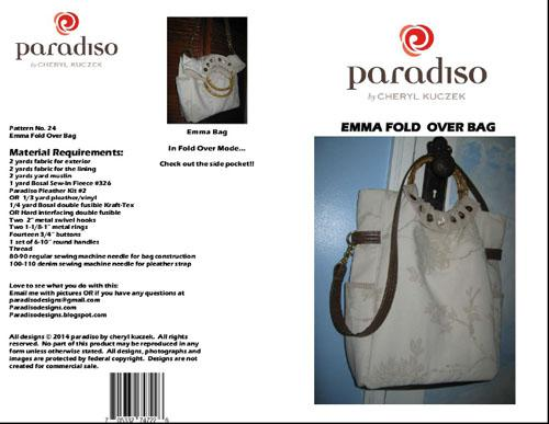 Paradiso Designs Emma Foldover Bag