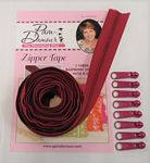Zipper Tape 3yds Raspberry