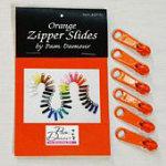 Orange Zipper Slides