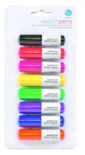 Silhouette Sketch pen 8/pkg