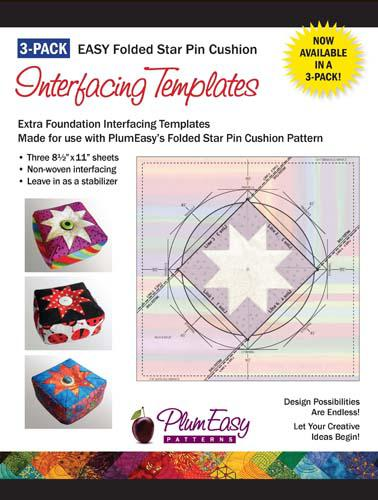 Plum Easy Pin cushion REFILL 3PK