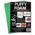 Sulky Puffy Foam 3pk, 2mm Kelly Green